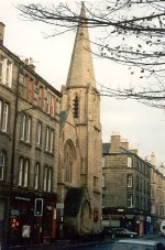 Church from Dalry Road